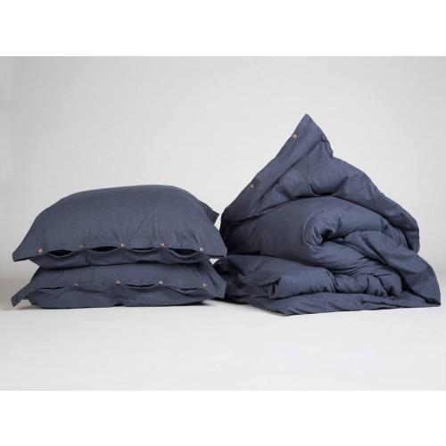 Bettwäscheset Jersey Indigo Blue
