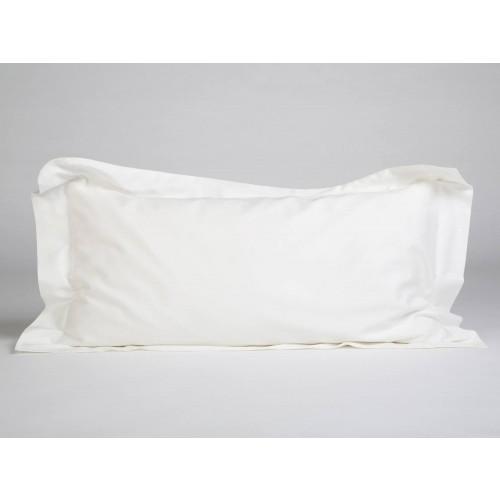 Kissenbezug Baumwollsatin Warm White