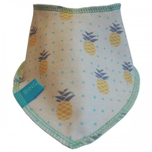 Baby Wendehalstuch Bio-Nicki Pineapple | bingabonga