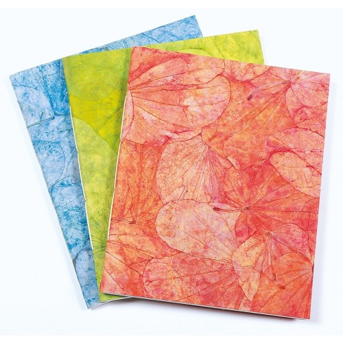 Büttenpapier Notizbuch - Skizzenbuch Lotus Pond | Sundara Paper Art