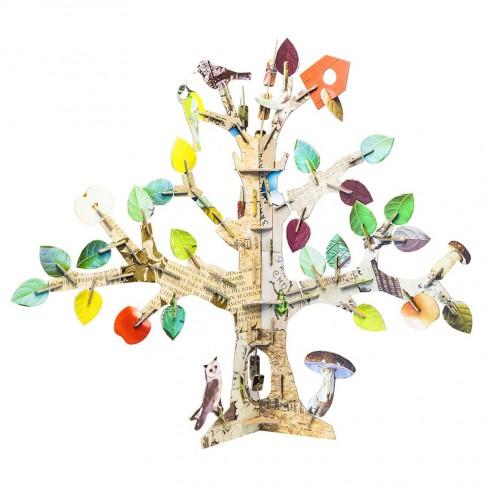 Bastelspielzeug Lebensbaum