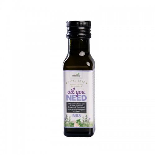 Bio Futteröl für Hunde & Katzen Ölmischung No.3