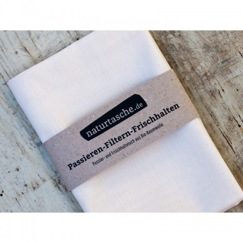 Passiertuch & Frischhaltetuch Bio-Baumwolle | Naturtasche