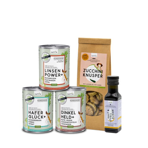 naftie Bio Schnupperbox Vegan Hundefutter Test-Paket