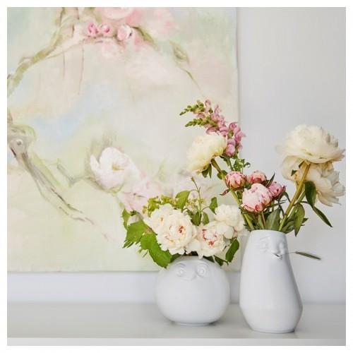 Porzellanvasen-Set »Amüsiert & Entspannt«, weiß | 58Products