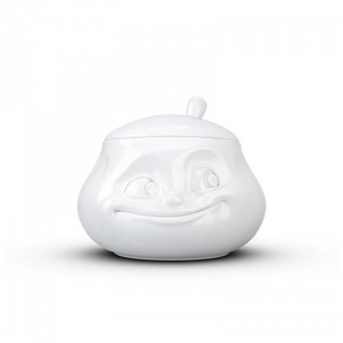 58 Products Porzellan Zuckerdose »Süß«, weiß