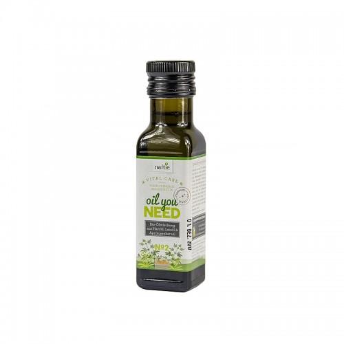 Bio Futteröl für Hunde & Katzen Ölmischung No.2
