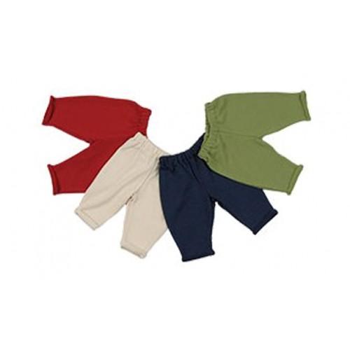 Rollrandhose – Hose mit Gummizug aus kbt Wolle und Seide von Reiff