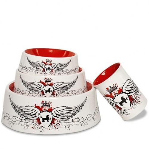 Hundenapf und Tasse aus Porzellan für Royals