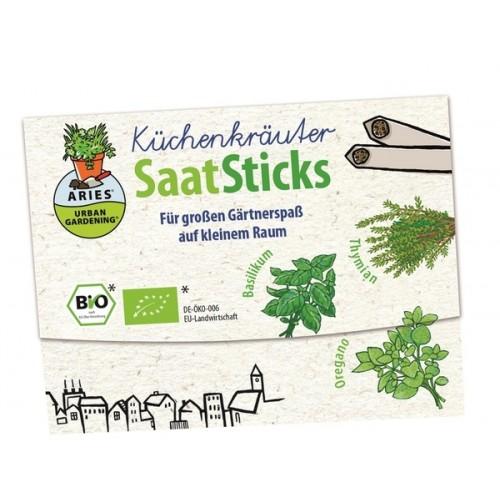 SaatSticks Bio Küchenkräuter | Aries