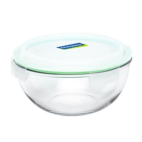 Glasslock Glasschüssel mit Deckel 2000 ml für Lebensmittel