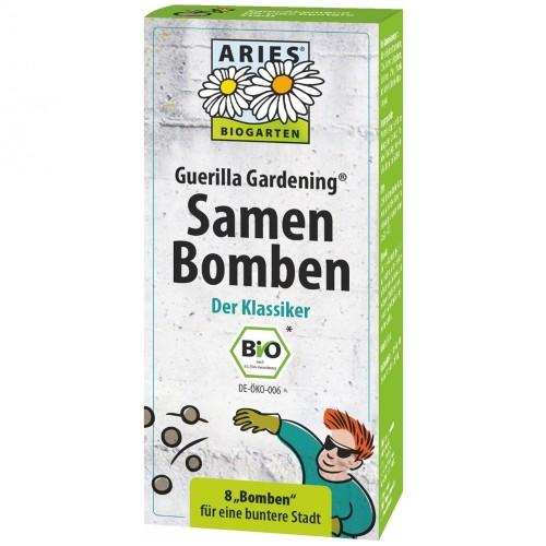 Aries Samenbomben Klassik 8 Stück, Guerilla Gardening®
