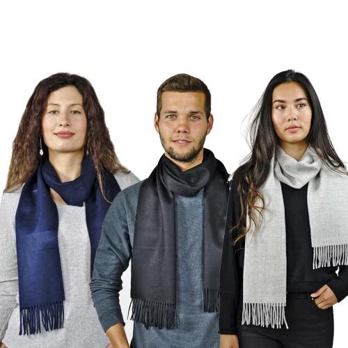 Premium Alpaka Schal Moskau, Uni, One Size Unisex Schal | AlpacaOne