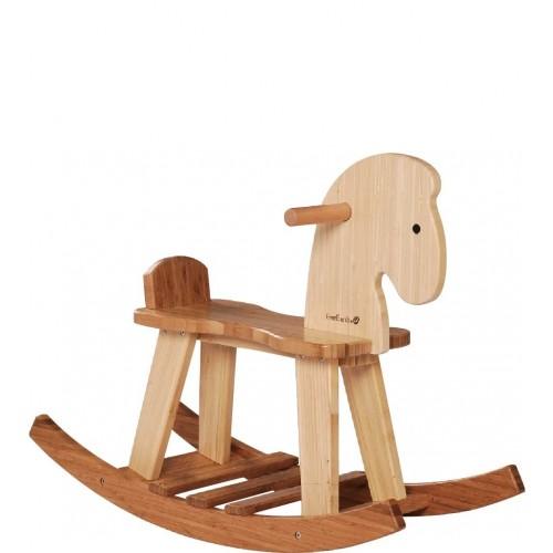 Öko Holz Schaukelpferd aus FSC Holz | EverEarth®
