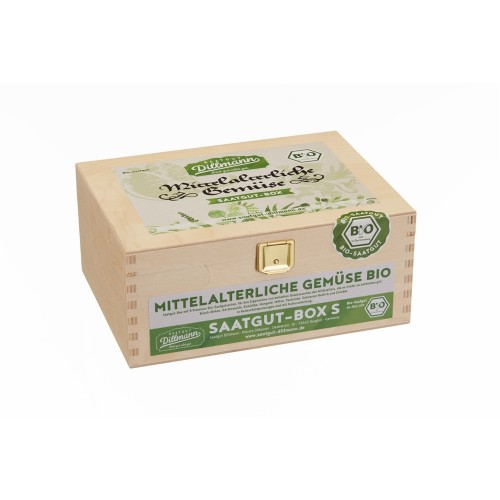 Mittelalterliche Gemüse Saatgut-Box S Bio | Saatgut Dillmann