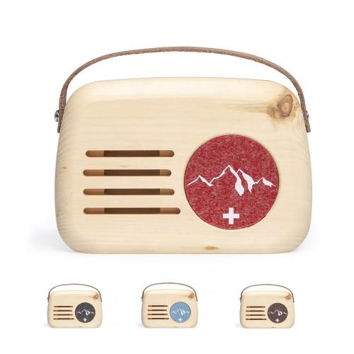 SENN - Klangbox aus Arvenholz mit Bewegungsmelder