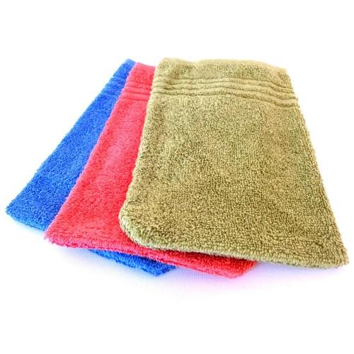Clarysse C2C Fairtrade Baumwolle Waschhandschuh Sets