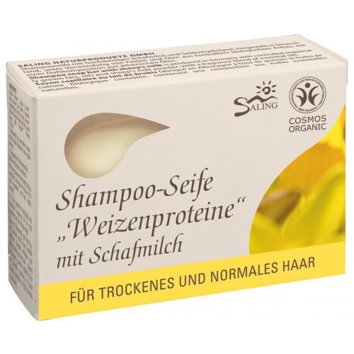 Bio Haarseife Weizenproteine mit Schafmilch | Saling