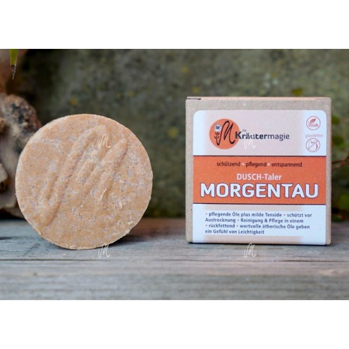 Dusch-Taler Morgentau - Festes Duschgel | Kräutermagie