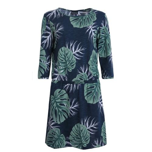 Bio Baumwoll Sommerkleid mit Blumenmuster | billbillundbill