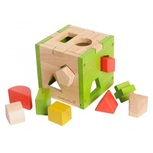 EverEarth Sortierwürfel & Sortierklötze aus FSC Holz