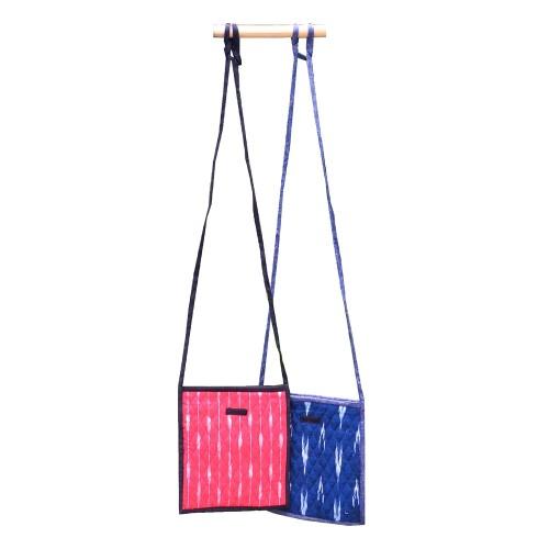 Kleine Handtasche IKAT - Fair Trade Tasche | Sundara Paper Art