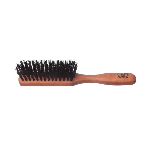 Taschen Haarbürste, Birnbaum, Wildschweinborste | Kost Kamm
