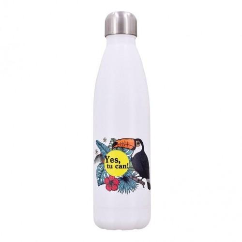 Dora's Thermoflasche TUCAN - Edelstahl Mehrwegflasche