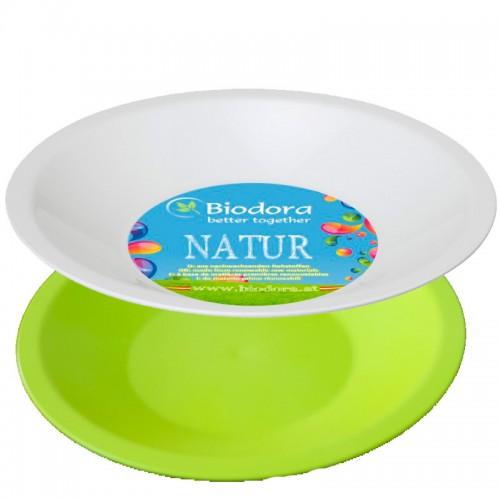 Suppenteller aus Biokunststoff in vielen Farben | Biodora