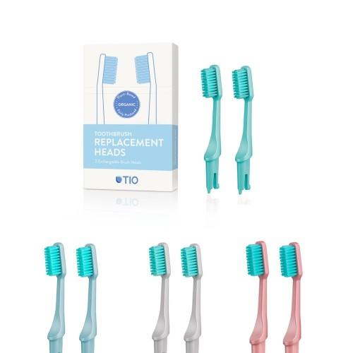 TIObrush Wechselkopf 2er Pack | TIOcare