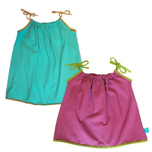 Trägertop Uni mit Kontrast-Saum - Bio Cotton | bingabonga