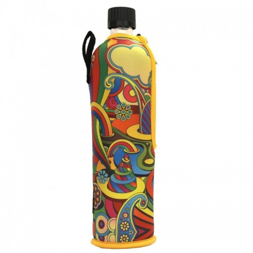 Trinkflasche Dora mit Neoprenanzug FANTASY