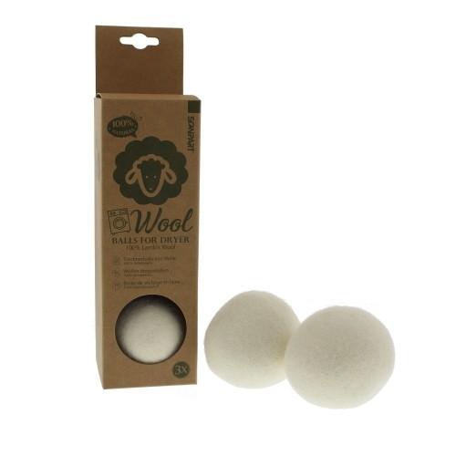 Trocknerbälle aus Schafswolle - 3er Pack | Scanpart