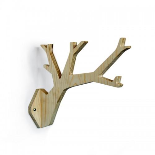 TWIG Kleiderhaken - Zweig-Design aus Buchenholz | noThrow Design