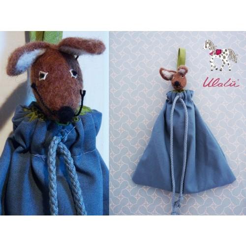Utensilo Babybett - Stoffbeutelchen Maus | Ulalü