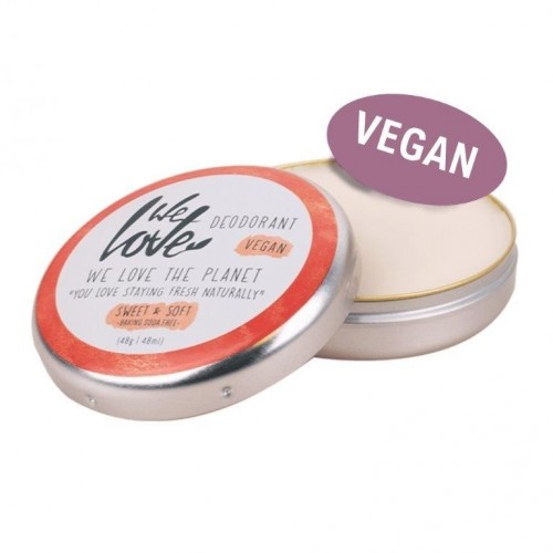 Vegan Deocreme Sweet & Soft ohne Natron | We love the Planet