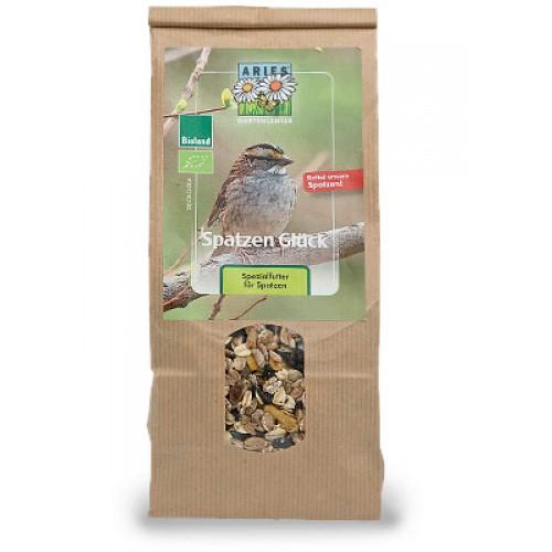 Bio Vogelfutter Spatzenglück von ARIES