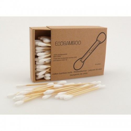 Öko Wattestäbchen Bambus & Baumwolle | ecobamboo