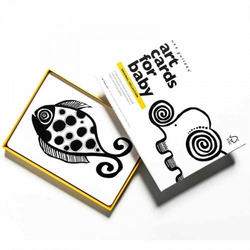 Wee Gallery Art Cards Bildkarten für Babys Original Kollektion