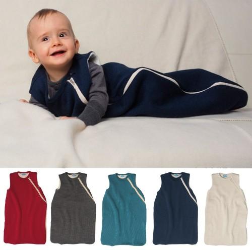 Baby Plüschschlafsack ohne Arm - Bio-Baumwollplüsch | Reiff