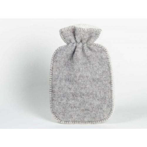 Wärmflaschenbezug Grey / White