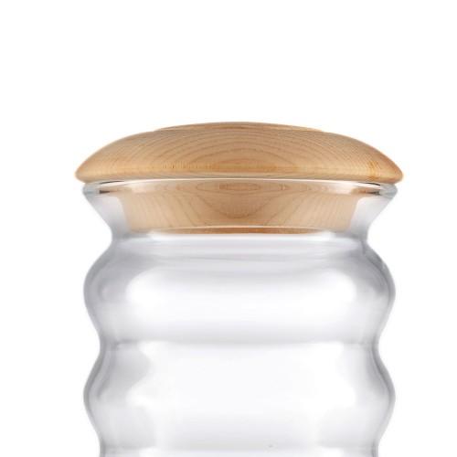 Nature's Design Zirbenholzdeckel für Pinus Cembra Cadus 1.5 Liter
