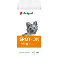 Amigard Spot On für Hunde bis 15kg, 3x2ml