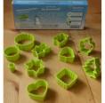 Keksausstecher Set aus Biokunststoff | Biodora
