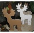 Bruno, der Hirsch aus Pappe zum Basteln | Papp à la Papp