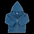 Bio Fleece Kapuzenjacke, blau | Reiff