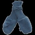 Reiff Kinder Handschuhe Wollfleece -pazifik- aus Bio-Merinowolle