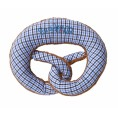 Brezel blau-weiß – Rassel + Greifling von nyani