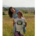 Herren T-Shirt MERAPI 100% recycled – Weiß