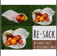Re-Sack Einkaufsbeutel und Gemüsenetz